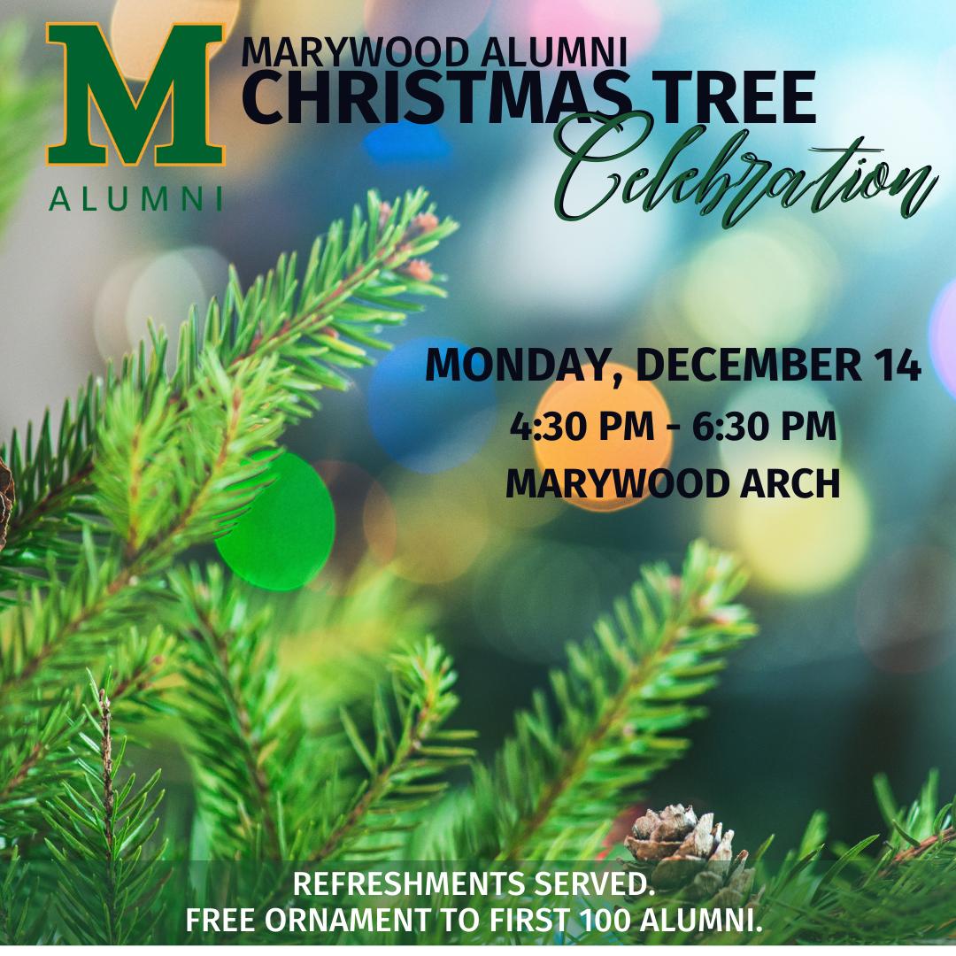 Alumni Christmas Tree Celebration