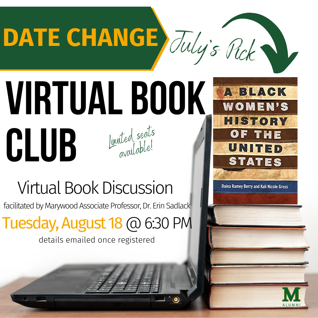 Marywood Virtual July/August Book Club