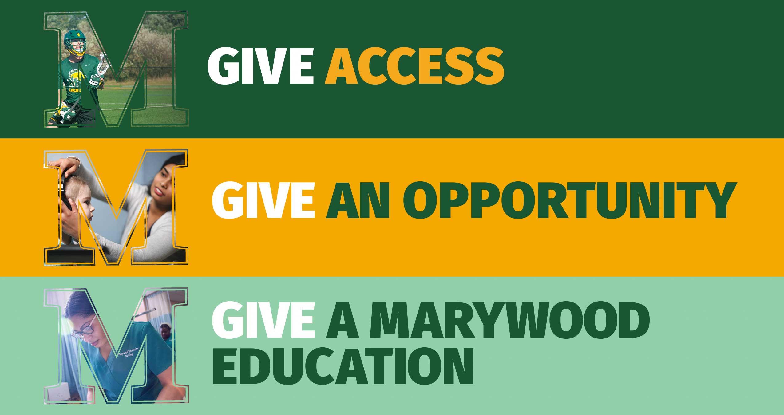 Marywood University Make a Gift 2021