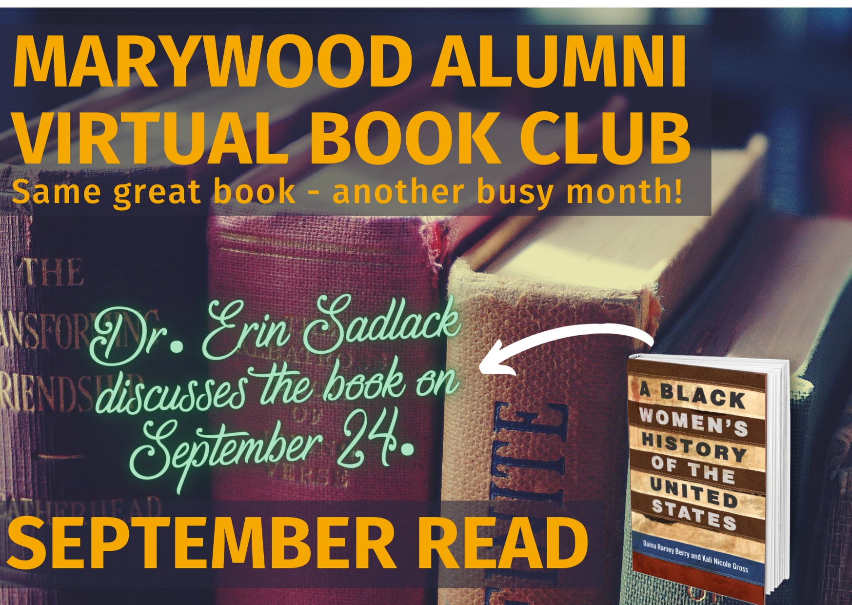 Marywood Virtual September Book Club