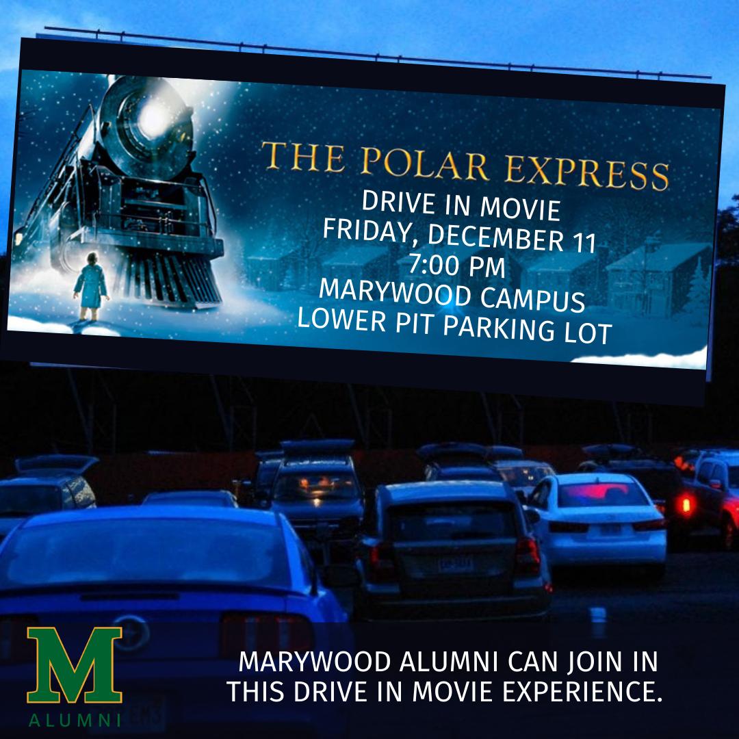 Polar Express Drive-in Movie