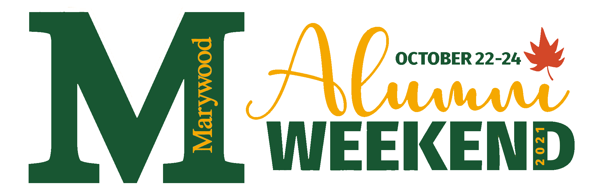 Alumni Weekend 2021 logo