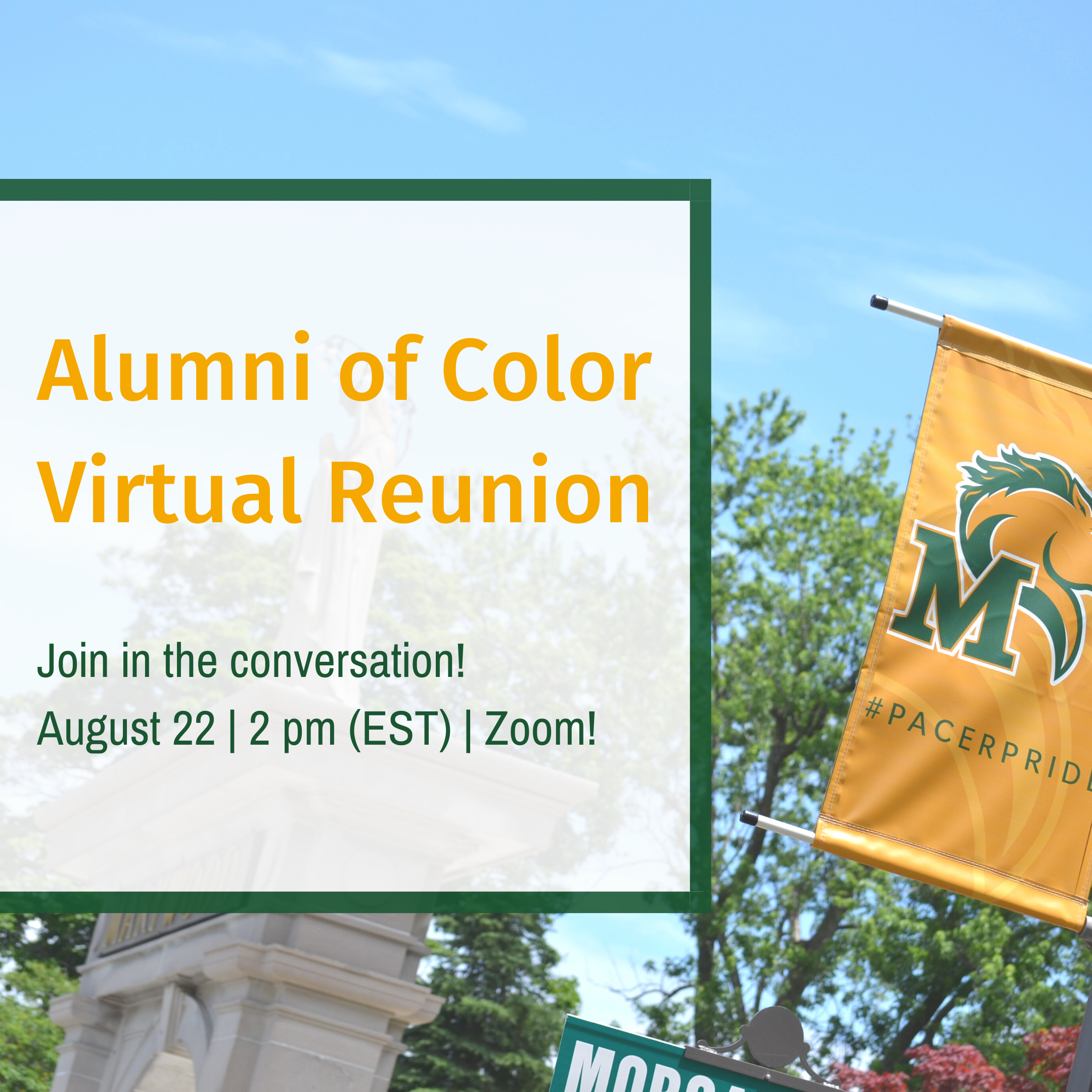 Marywood Alumni of Color Virtual Reunion