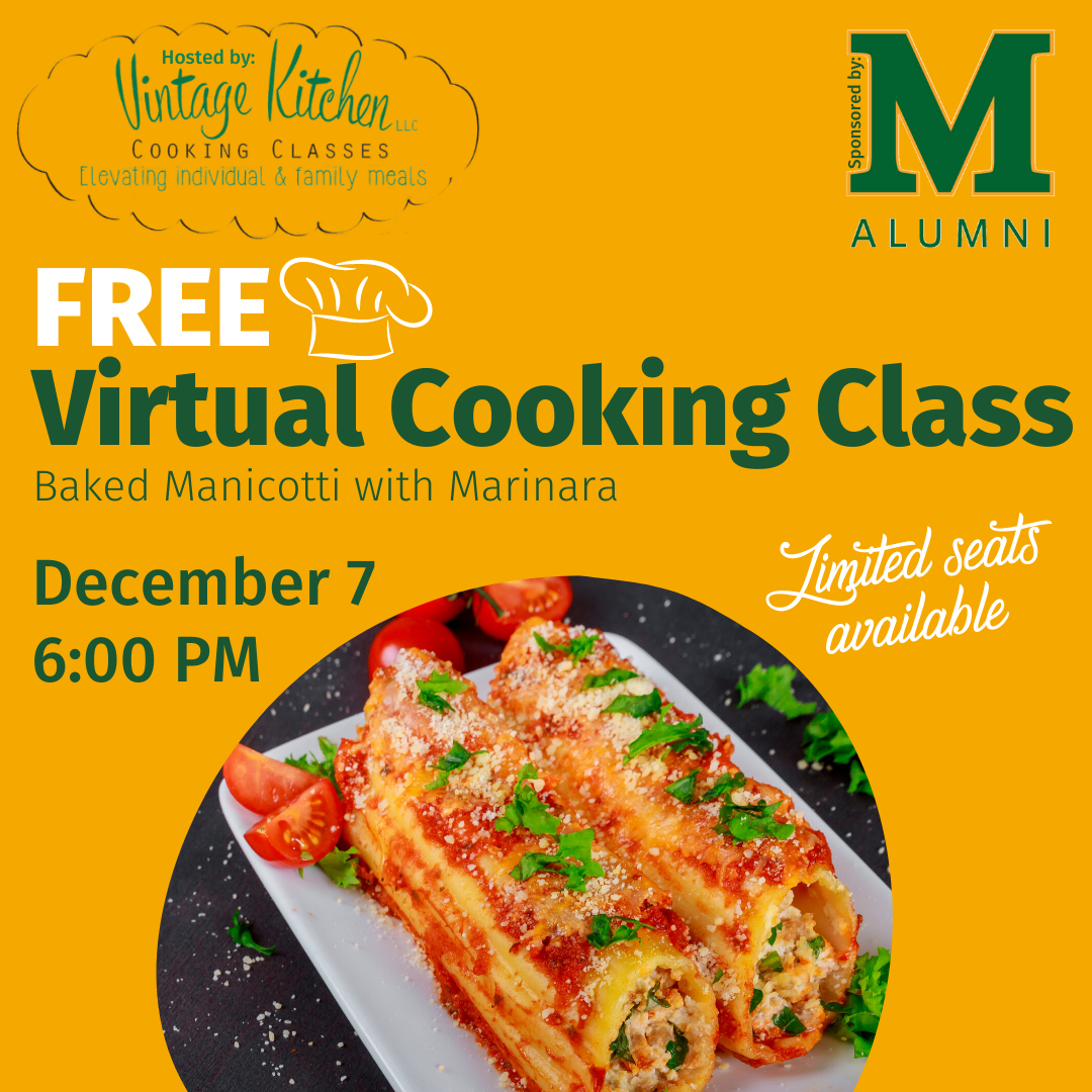 Virtual Cooking Manicotti