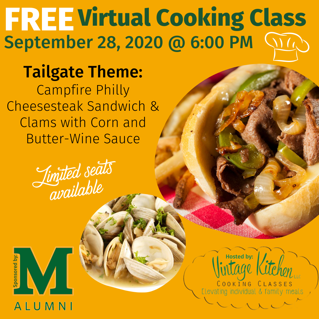 Virtual Cooking Class - Tailgate