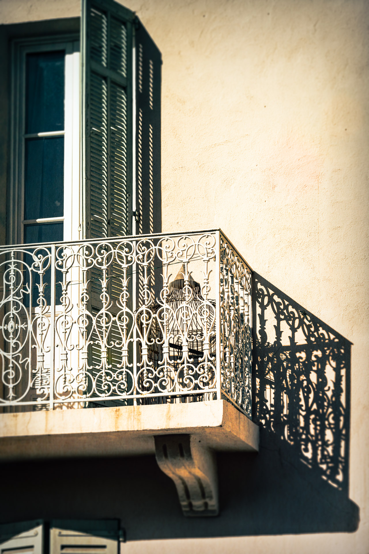 Balcony in Cannes, France newsletter