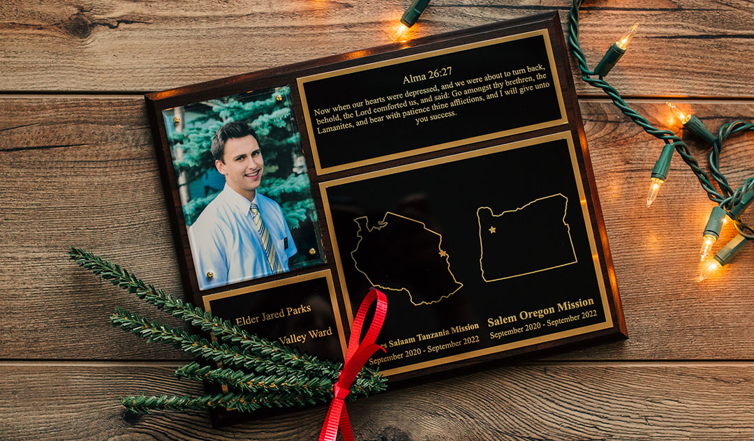 LDS Missionary Plaques