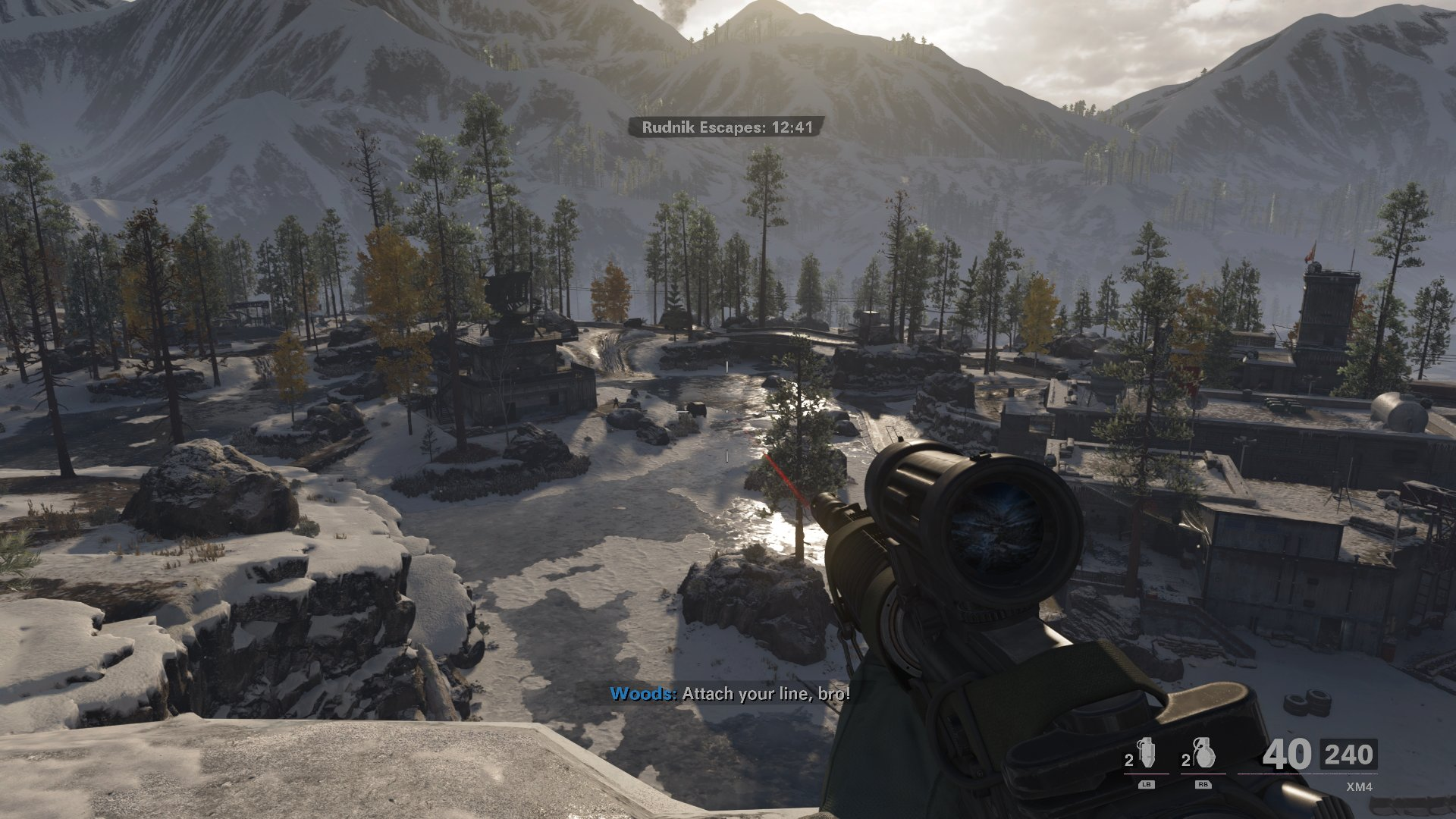 The game looks sharp on next-gen consoles, even if many of the locations are dull
