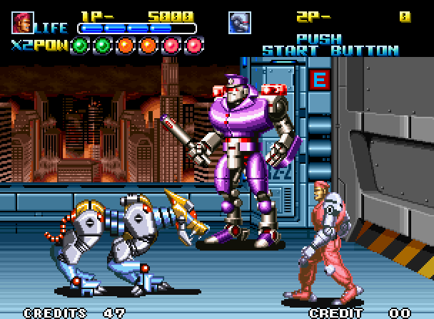 How fair is it for a cyborg to be in a fighting game