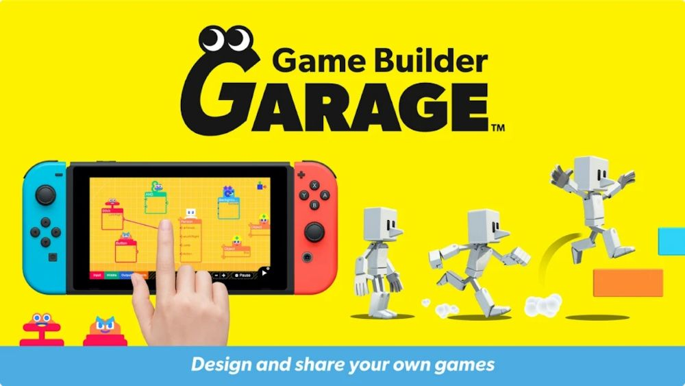 Game Builder Garage is made by Nintendo