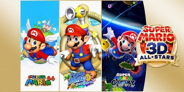 3D All Stars is a collection of Super Mario classics