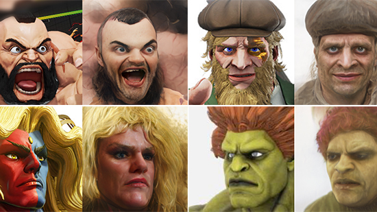 Street Fighter characters 'converted to real life'