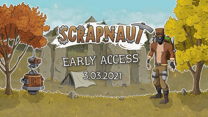 Scrapnaut will launch on Nintendo Switch after the PC release
