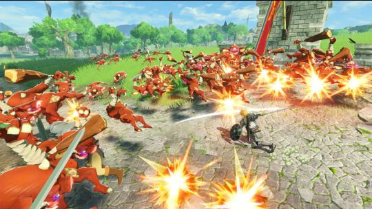 Link is off to war in Hyrule Warriors: Age of Calamity