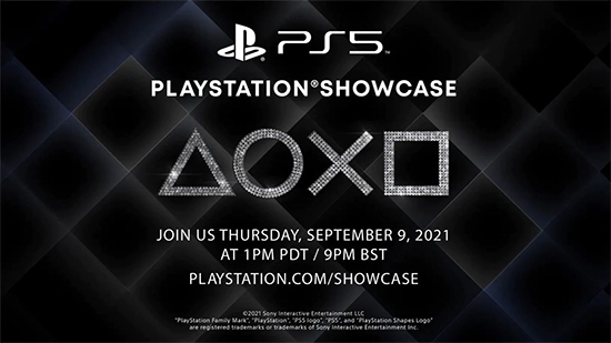 Banner for PlayStation Showcase 2021