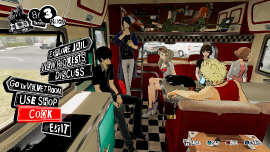 Dynasty Warriors and Persona on a road trip together
