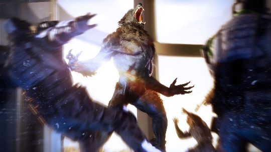 Control your rage in Werewolf: The Apocalypse
