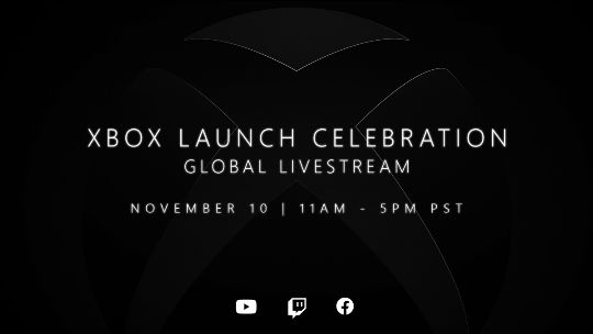 No in-person launch event for Xbox Series X / S