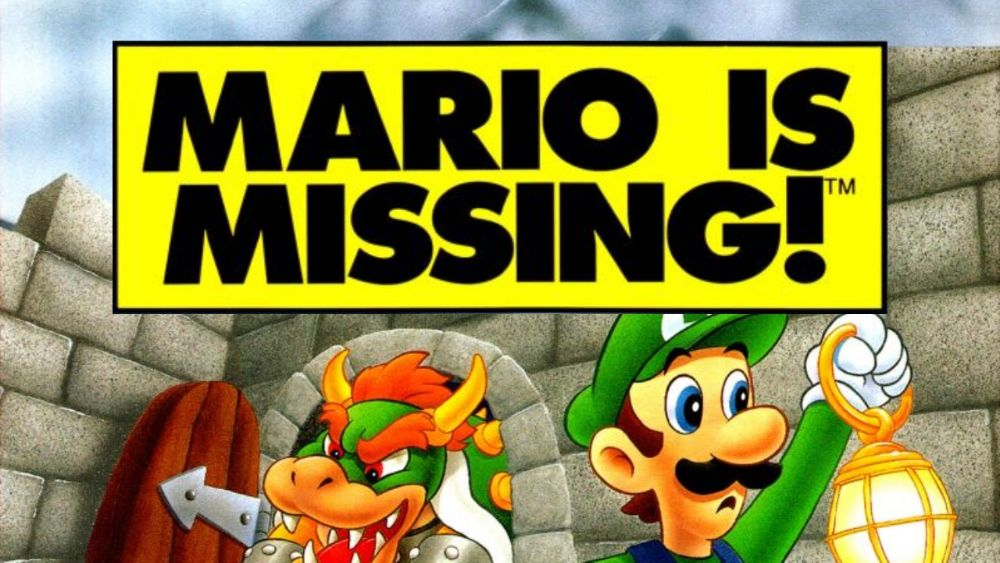 Luigi travels the world in search of Mario