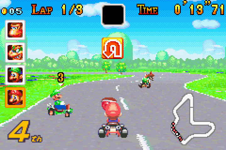 Mario Kart: Super Circuit was the third title in the series