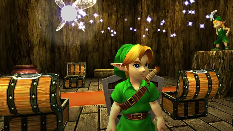 Ocarina of Time 3D was a 3DS remake of the N64 original