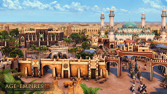 Age of Empires III: DE is adding the Ethiopians and Hausa