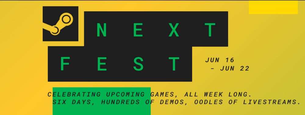 Next Fest is literally the new Steam Game Festival
