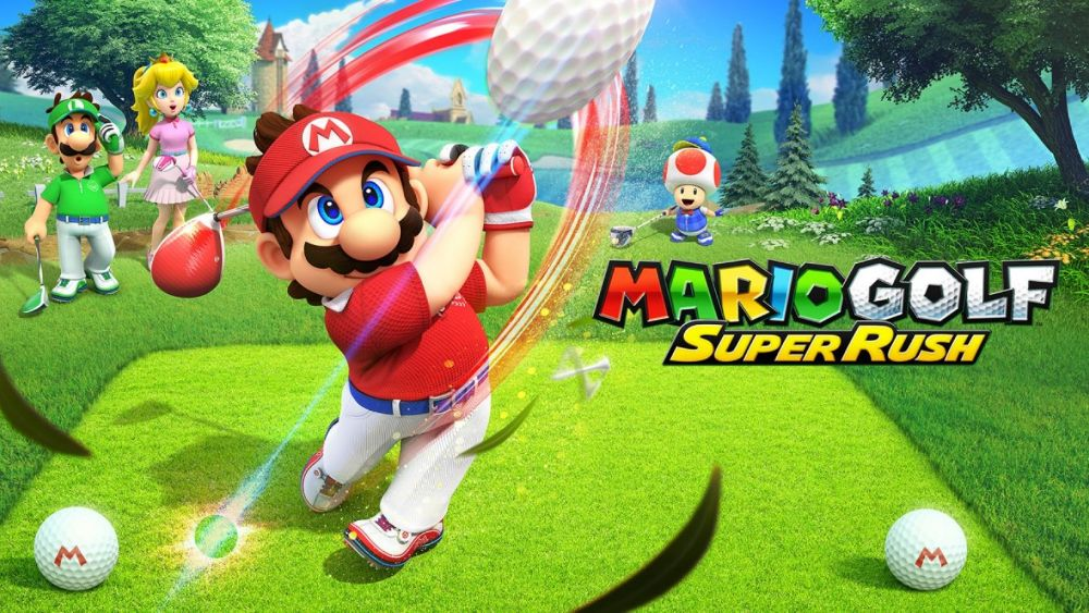 Swing and sprint in Mario Golf: Super Rush