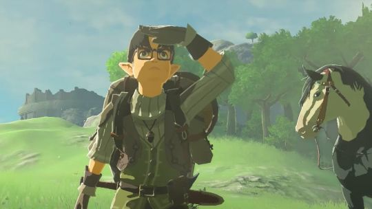 Link is no stranger to having to 'wear' different faces