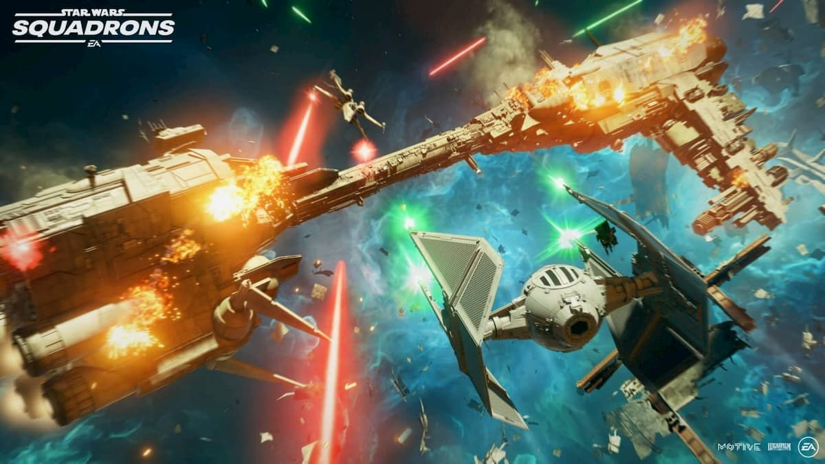 Squadrons is seen as a spiritual successor to 1997's X-Wing vs. TIE Fighter