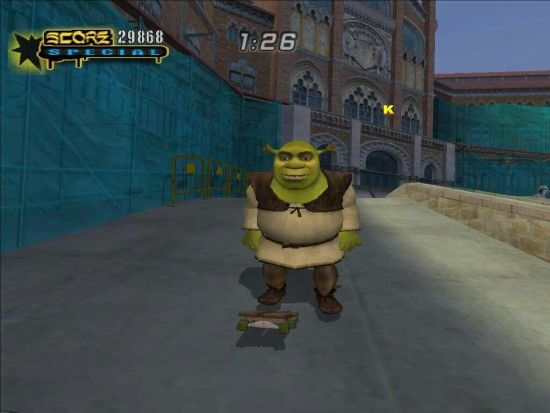 Pull off a kicklip with our classic green ogre friend