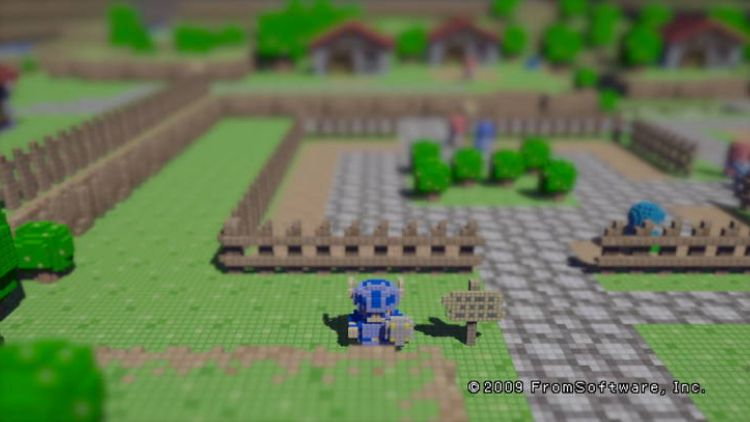 3D Dot Game Heroes launched on PS3 in 2009/2010
