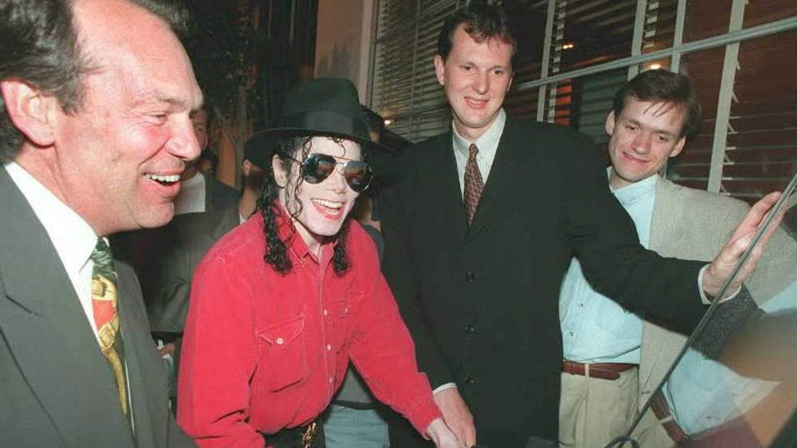 Nothing screams 1995 like Michael Jackson trying out a PlayStation.