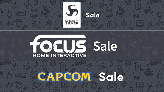 Publisher sales banners from Humble Bundle