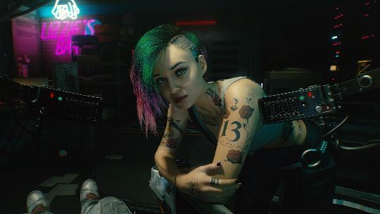 Look as dashing or as dull as you want in Cyberpunk 2077