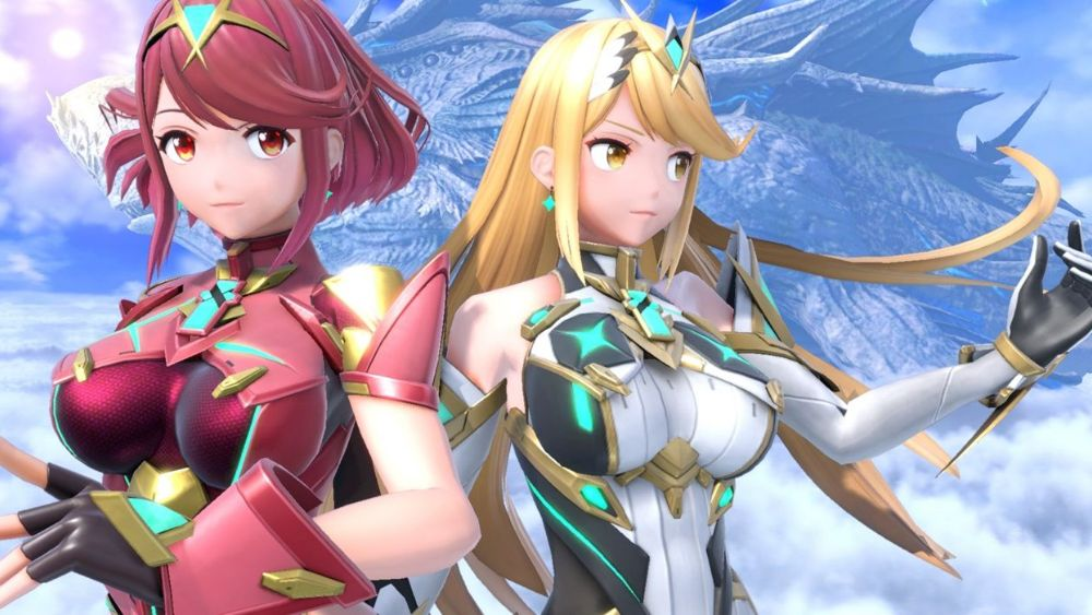Pyra and Mythra aren't siblings but 'personalities'