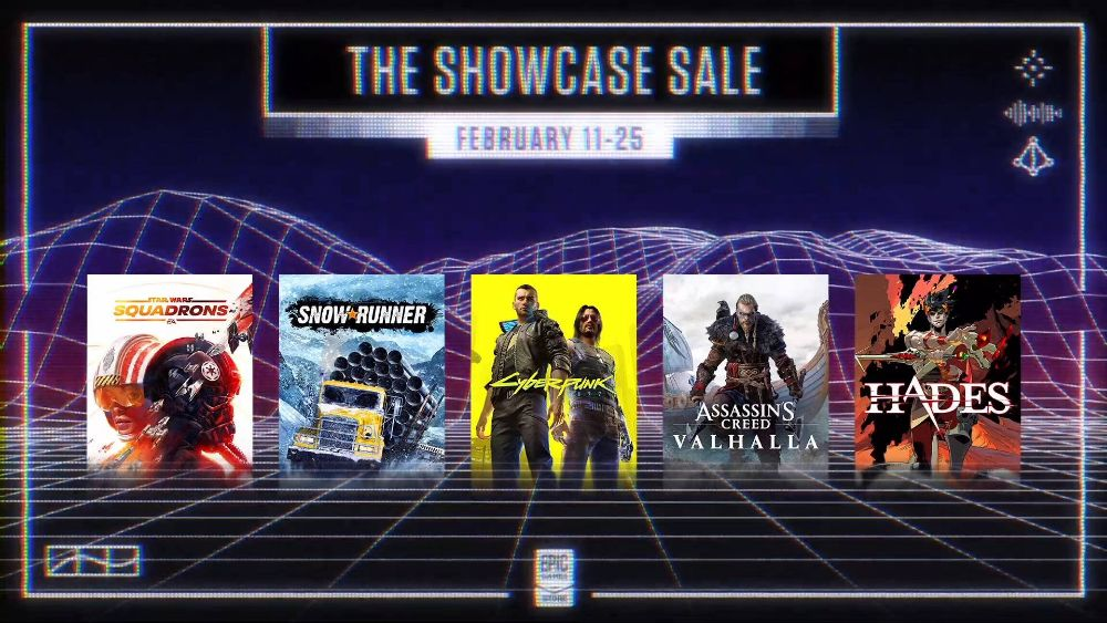 Make some epic savings with the Showcase Sale