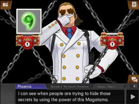 Magatama power is uncovered