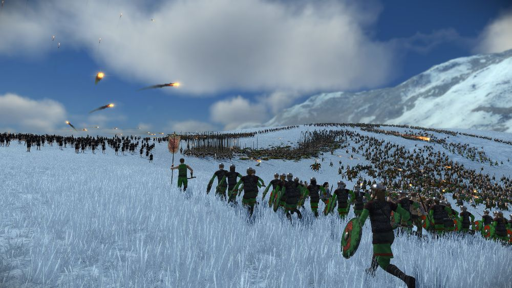 The original Rome: Total War released in late 2004