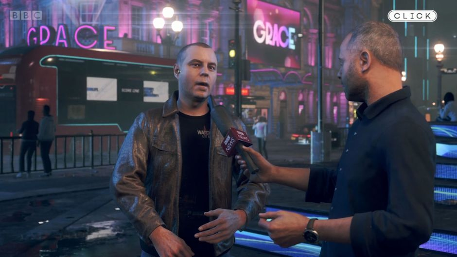How many game devs have had a virtual interview with the BBC?