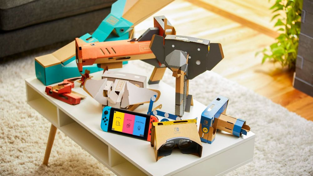 Nintendo Labo turned Switch into 'toys' for VR