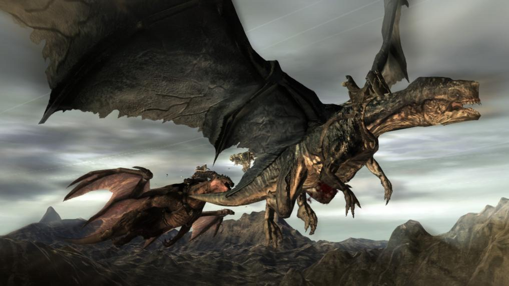 Nobody played Lair, but you gotta admit dragon fights are metal as hell