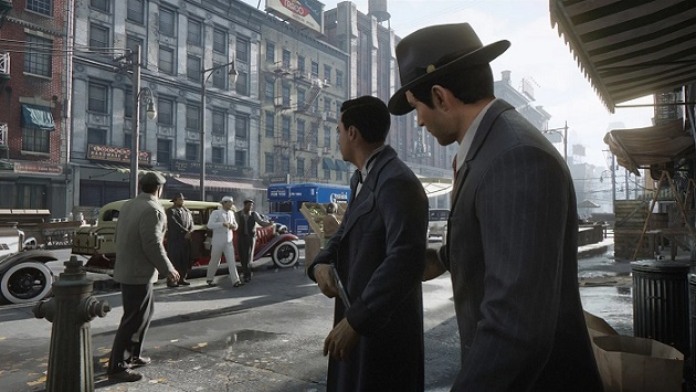 Get fitted for some concrete shoes in Mafia: Definitive Edition