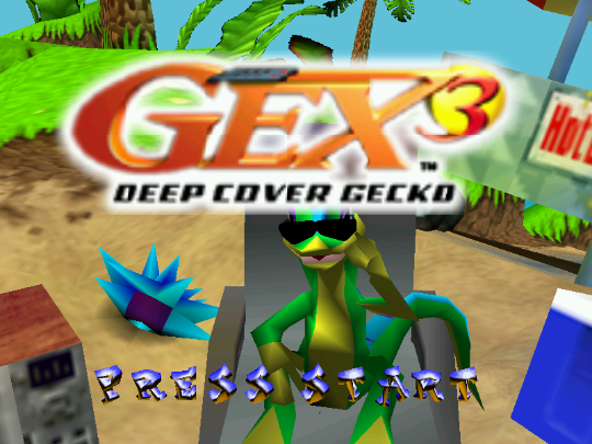 Beach, babes and British recasts for Gex 3: Deep Cover Gecko