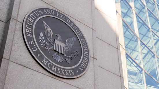Outdoor seal of the Securities and Exchanges Commission