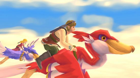 Skyward Sword HD features quality of life improvements