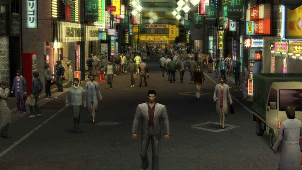 The classic Yakuza on PS2