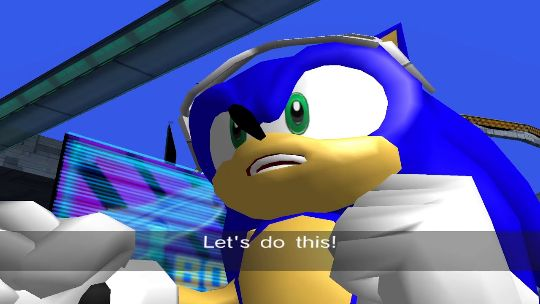 Sonic Riders for Xbox and PC skipped its eye test
