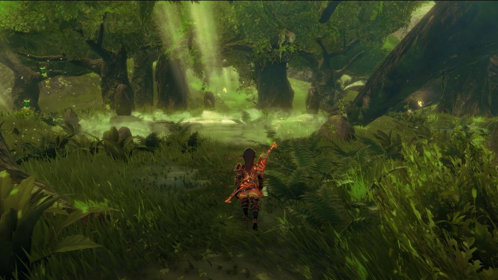 Korok Forest in 8K with Ray Tracing