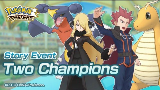 Two Champions are back for Pokemon Masters EX